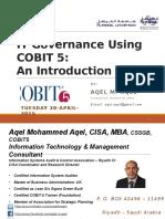 COBIT 5 IT Governance Model an Introduction