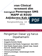 Peran Clinical Government Dlm SMS MAPP