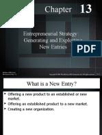 Techno 13-Entrepreneurial Strategy