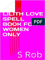 Lilith Love Spell Book for Wome - s Rob