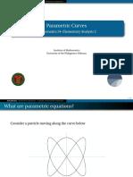 09 Parametric Equations - Handout.pdf