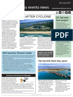 Business Events News for Mon 10 Apr 2017 - Qld steps up after Cyclone, ICC Sydney wins award, MCB planners guide, PCB website, Launceston wins event, and more