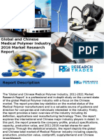 Global and Chinese Medical Polymer Industry, 2016 Market Research Report