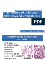 Sergio S -Enfermedad Pulmonar Restrictiva-Neumoconiosis
