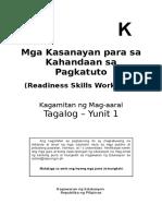 Kinder Lm Tagalog q1