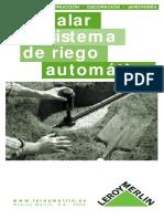 Botánica - Jardinería - Instalar un sistema de Riego Automático - Leroy Merlin.pdf