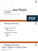05 Radio Engineering - Topology Planning