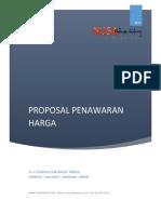 Proposal Penawaran Harga Huruf Timbul