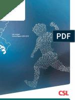 CSL Annual Report 2015