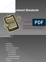 Measurement Standards