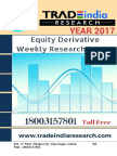 Weekly Derivative Report for 10 Apr 2017- 14 Apr 2017 by TradeIndia Research