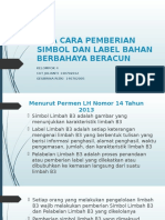 Ppt Simbol Dan Label b3