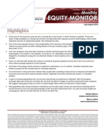NBC Financial Group Monthly Equity Monitor JUL AUG