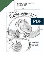 Dear T-rex Worksheet Preg