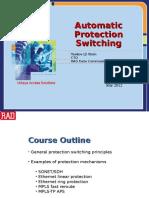 Auto Protection Switching RAD