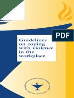 Guideline Violence
