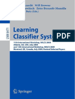 Bacardit - Learning Classifier Systems - 2009