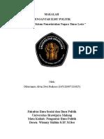 ideologi dan sistem pemerintahan timor leste