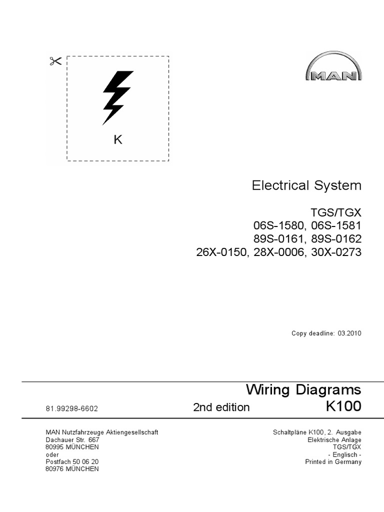Man K100 Electrical System Tgs