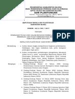 Sk Pembagian Tugas Sem 2 2017