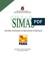 MANUAL DO USUÁRIO SIMAS