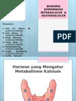 Biokimia Komunikasi Intraseluler & Ekstraseluler