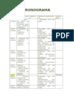 Cronograma Da Disciplina Metodologia Da Pesquisa Em Linguística