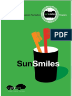 Carevan Sun Smiles Program Booklet February 2016