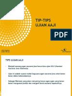 Tips Ujian AAJI on-Line (Word97-03)