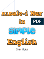 Risale i Nur in Simple English for Adults and Children