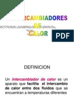 INTERCAMBIADORES DE CALOR Y CALDERAS
