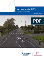 HPN 033 - Criteria on the Selection of Pedestrian Facilities