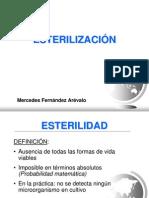 ESTERILIZACIÓN  Por Mercedes Fernández Arévalo