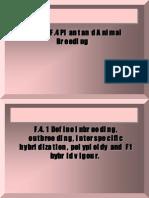 Option F plant and animal breeding