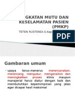 1.Peningkatan Mutu Dan Keselamatan Pasien (Pmkp)