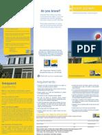 Residential PV Rebate Application 5-2010