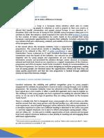 Eurodesk Position Paper - European Solidarity Corps Consultation