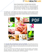 Ayurvedic and Panchakarma Treatment Restores the Health Without Side Effect