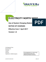 Electricity Northwest - Use of System Charging Statement (2017)