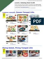 Daftar Harga Souvenir Katalog Dani Craft
