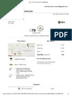 Gmail - Ola Share Receipt for OSN389572965