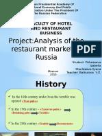 Analiz Restorannogo Rynka 1