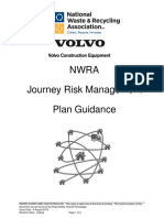 1 2016 NWRA Journey Risk Management Plan POLICY Guidance