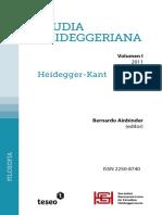 Ainbinder, B; Studia Heideggeriana Vol-I-Heidegger-Kant.pdf