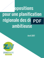 Propositions ZWF plans régionaux