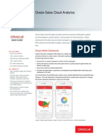 Oracle Sales Cloud Analytics Ds