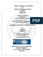 Credit Appraisal System at Indian Overse (1)