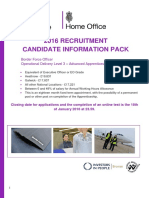Border Force Officer Advanced Apprenticeship National Candidate Pack 04-01-2016