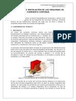 Estructura e Instalacion de Las Maquinas de Cc