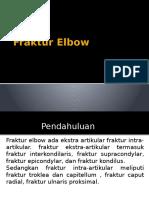 Fraktur Elbow